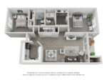 2 BD / 2 BA Option 1: Kendall