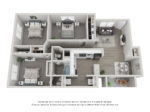 3 BD / 1.5 BA Option 1: Georgetown